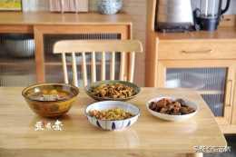 三菜一湯一家六口人吃還有剩,網友:生活不能這麼省,該吃還得吃