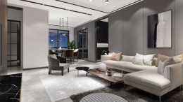 125平以素雅的灰色調為主,透過黑白色加持,低調沉靜成為主流