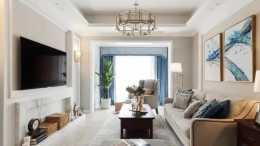 100平美式二居室,溫馨舒適、怡然悠閒