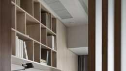 120平現代簡約風三居室,兒童房的藍色很有童話的感覺